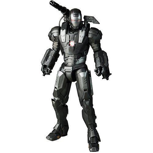 Boneco Máquina de Combate (War Machine): Homem de Ferro 2 (Iron Man 2) (MMS120) Escala 1/6 - Hot Toys