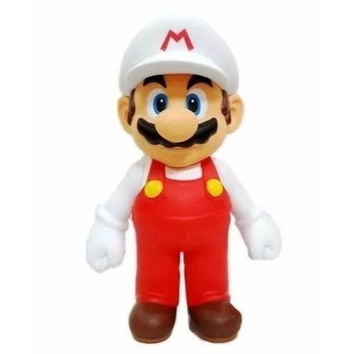 Boneco Mario Fire: Super Mario Bros (13Cm)