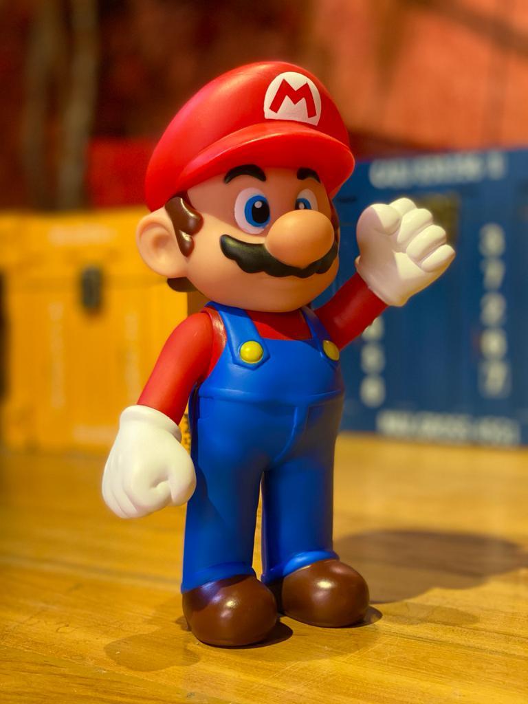 Boneco Mario: Super Mario Bros (20Cm)