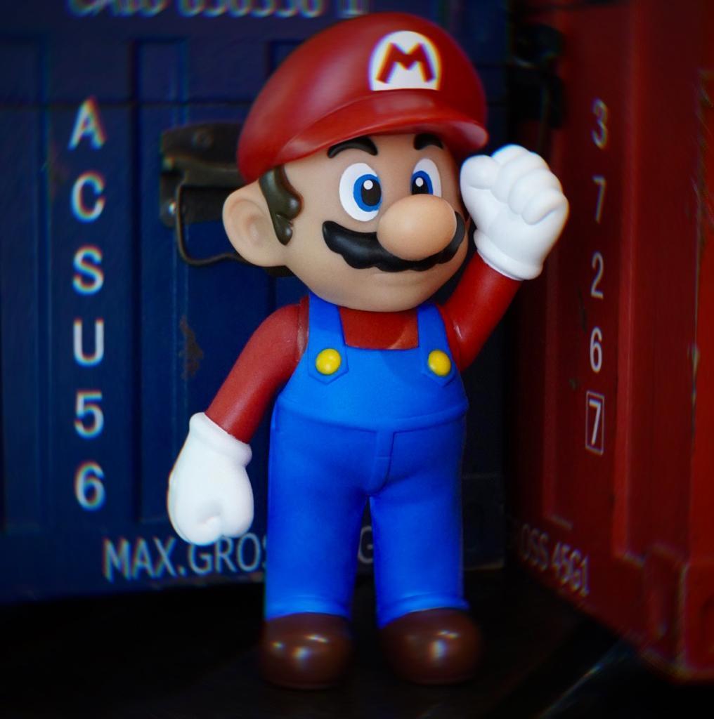 Boneco Mario: Super Mario Bros World (20Cm) - EV