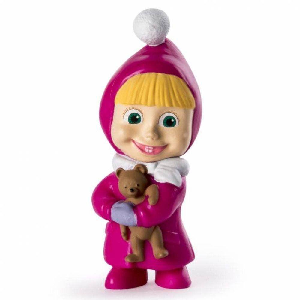 Boneco Masha com o Urso de Pelúcia: Masha e o Urso - Sunny