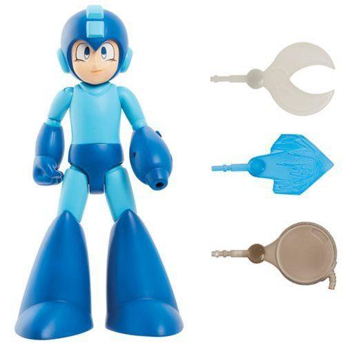 Boneco Mega Man (Classic): Mega Man (Luz e Som) - Jakks