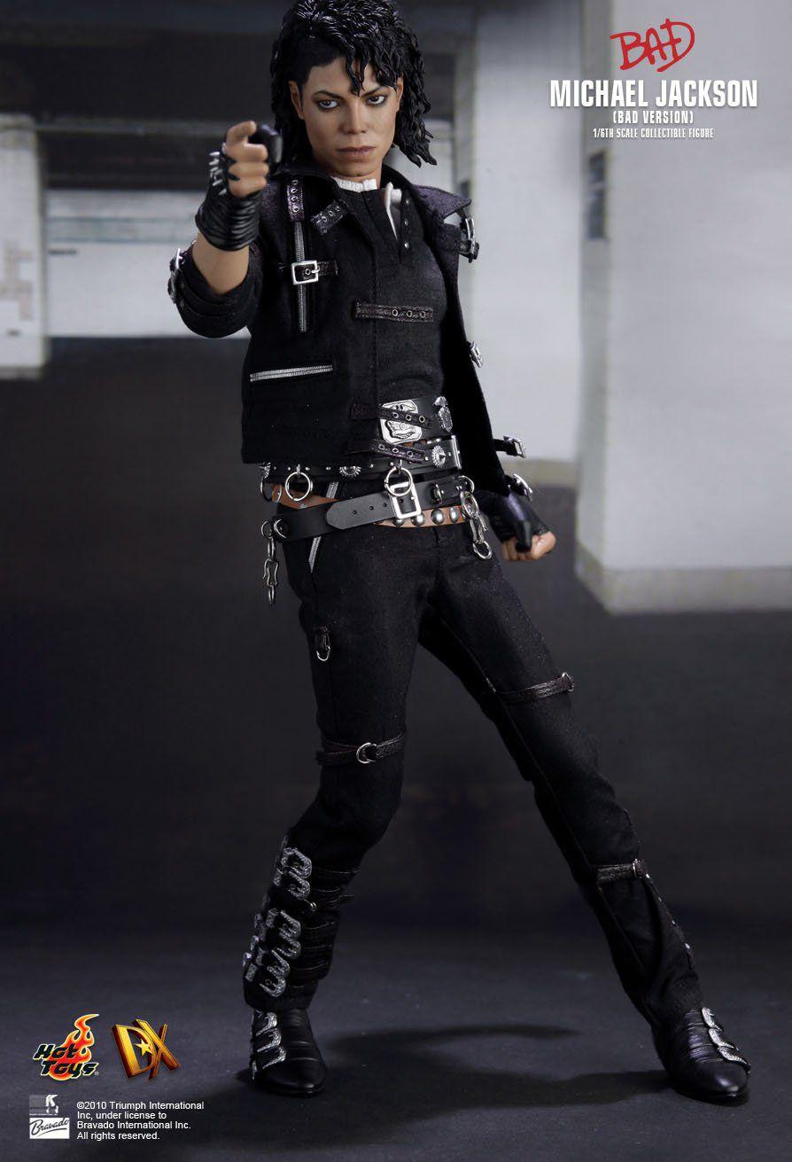 Action Figure Michael Jackson Bad Version Music Icon Series Escala 1/6 DX03 - Hot Toys