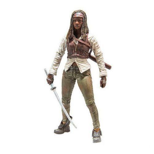 Boneco Michonne: The Walking Dead Serie 7 - McFarlane (Apenas Venda Online)