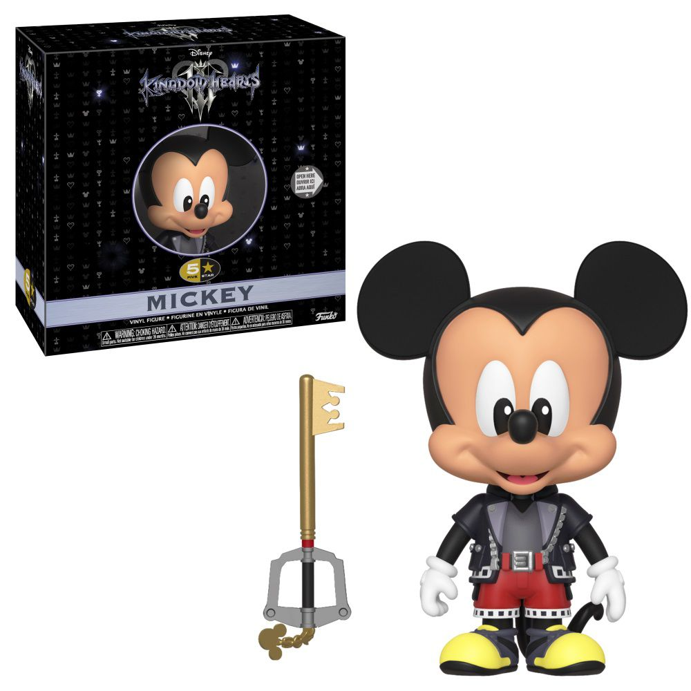 Funko Boneco Mickey Mouse: Kingdom Hearts III (5 Star) - Funko