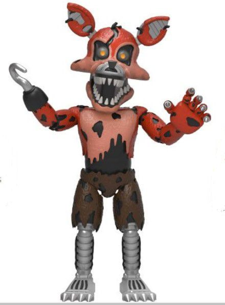 Funko Boneco Mini Nightmare Foxy: Five Nights at Freddy's - Funko (Apenas Venda Online)