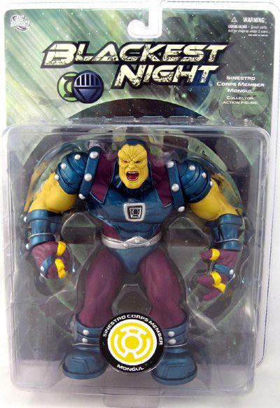 Action Figure Mongul (Sinestro Corps): Blackest Night (DC Comics) Boneco Colecionável - DC Direct - CG