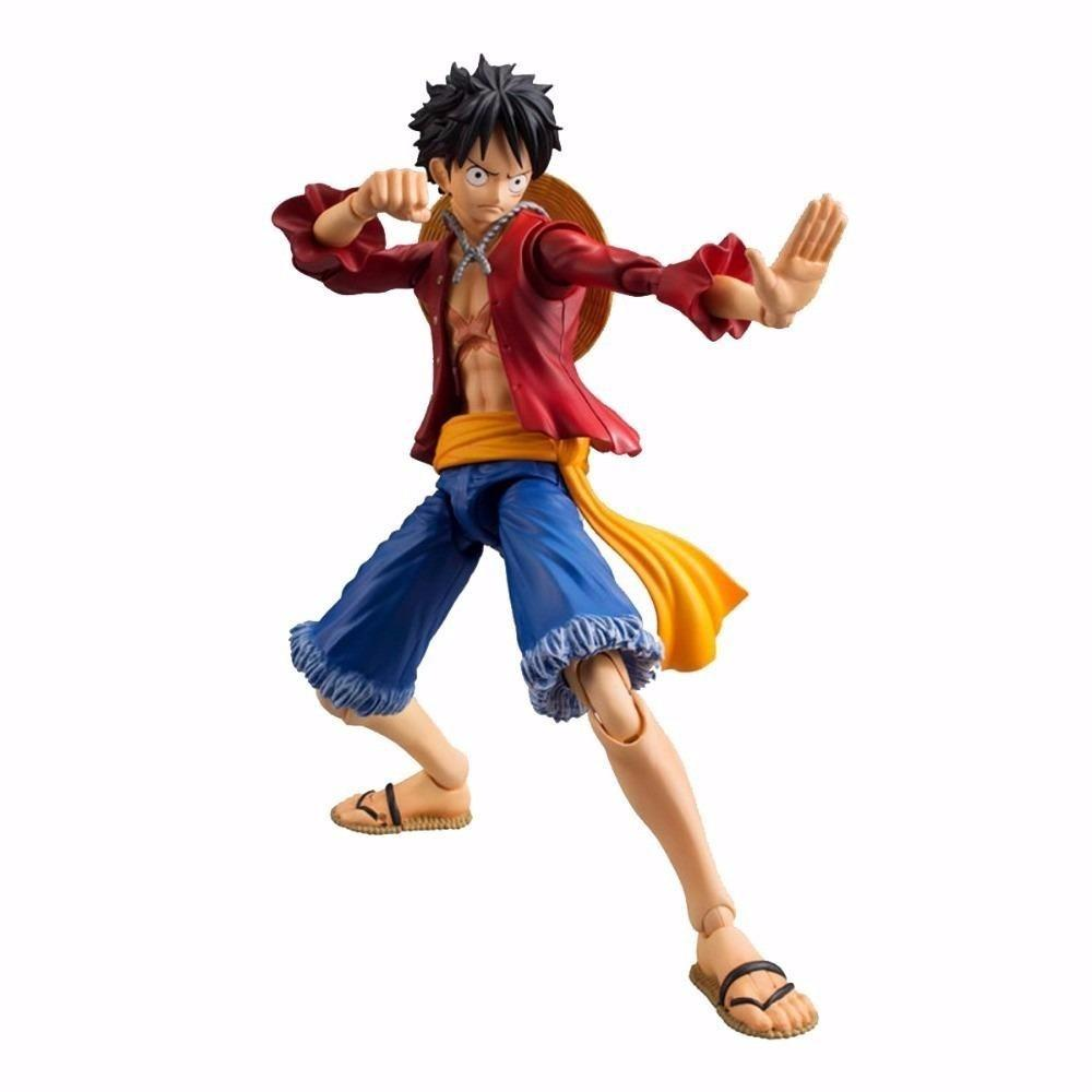 Boneco Monkey D. Luffy: One Piece Variable Action Heroes (VAH) - MegaHouse