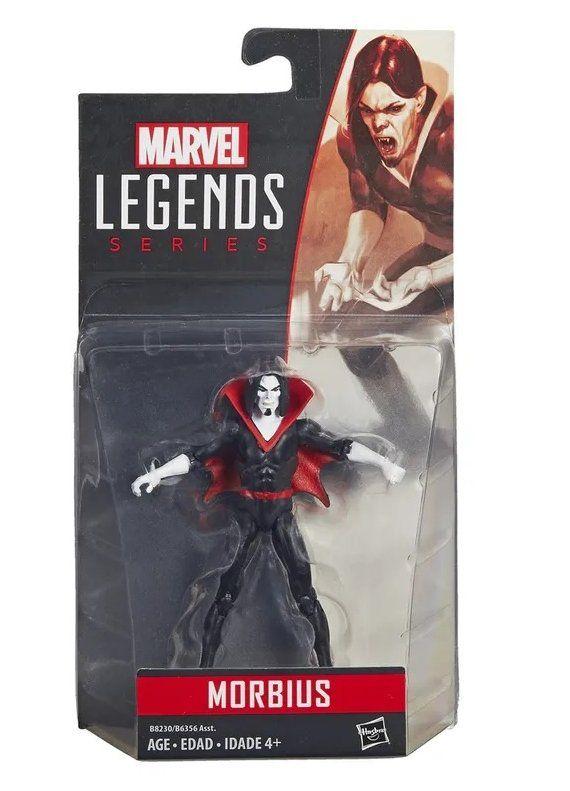 Boneco Morbius: Marvel Legends (10cm) - Hasbro