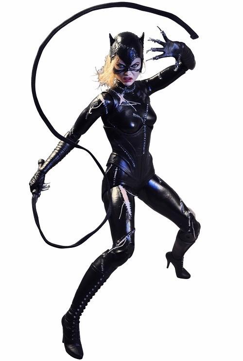 Boneco Mulher-Gato (Catwoman): Batman: O Retorno (Returns) Escala 1/4 - NECA
