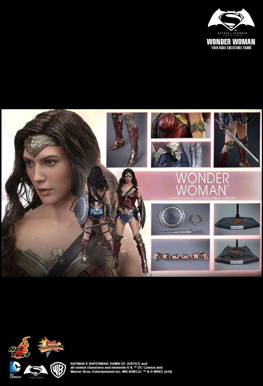 Boneco Mulher Maravilha (Wonder Woman): Batman Vs Superman 1/6 - Hot Toys