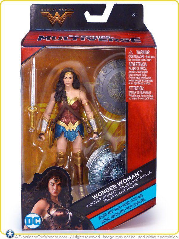 Boneco Mulher Maravilha (Wonder Woman): Multiverse DC Comics - Mattel