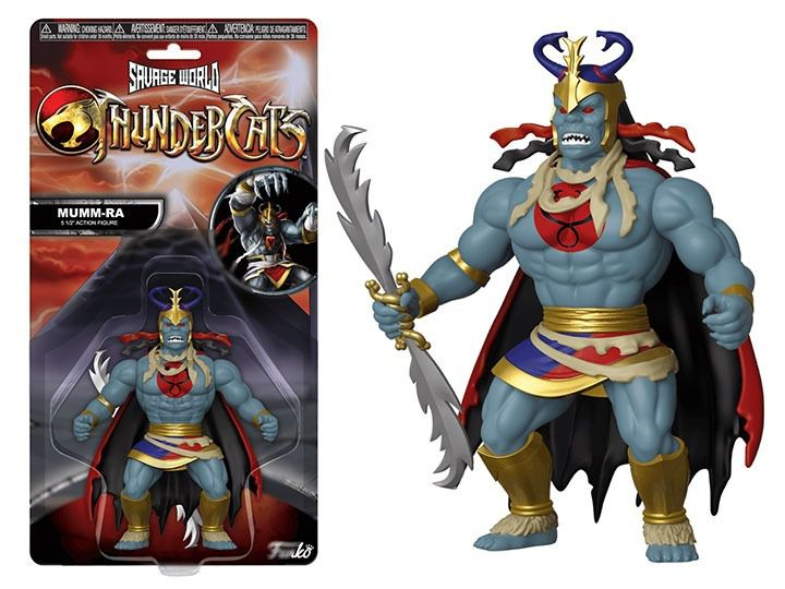 Funko Action Figure Mumm-Ra (Savage World): ThunderCats - Boneco Colecionável - Funko