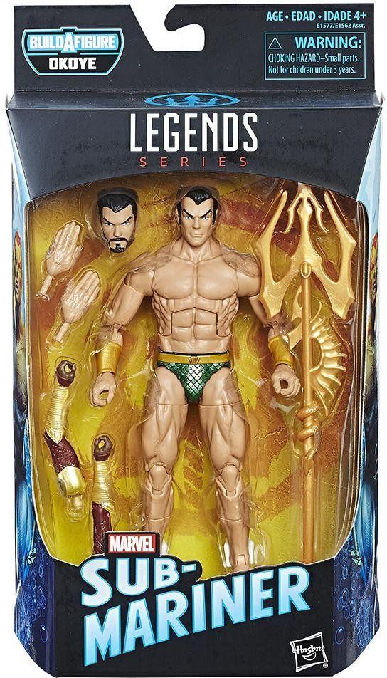Boneco: Namor the Sub-Mariner : Marvel Legends Series - Hasbro