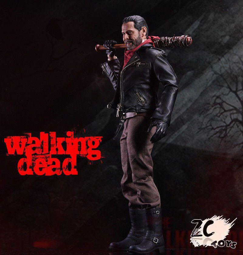 Boneco Negan: Walking Dead (Escala 1/6) - ZC Toys
