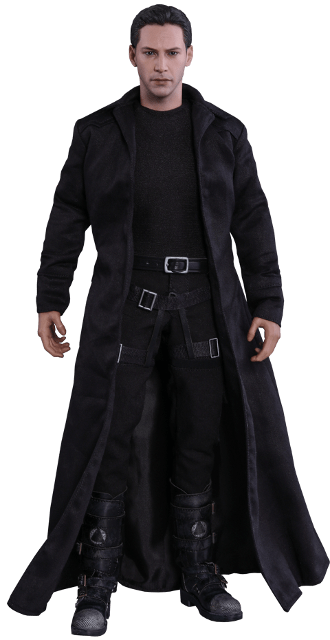 Boneco Neo: The Matrix Escala 1/6 (MMS466) - Hot Toys (Apenas Venda Online)