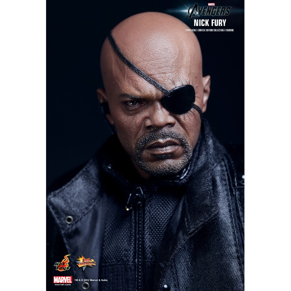 Boneco Nick Fury: Os Vingadores: The Avengers Escala 1/6 - Hot Toys - CG