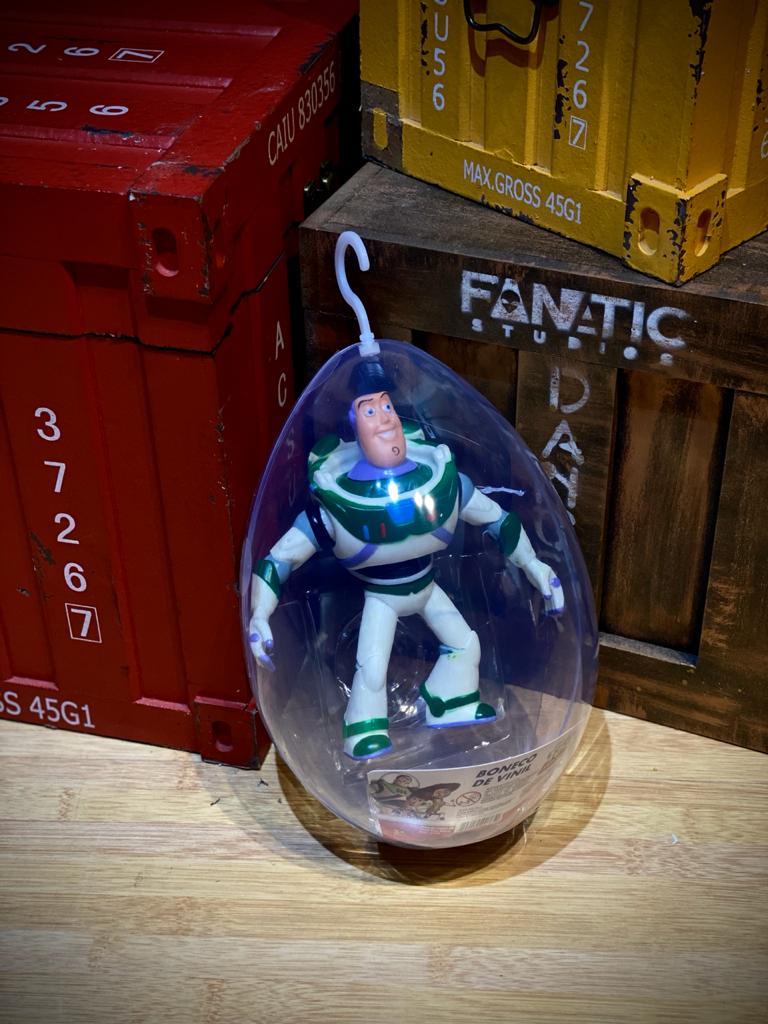 Boneco No Ovo Buzz Lightyear: Toy Story