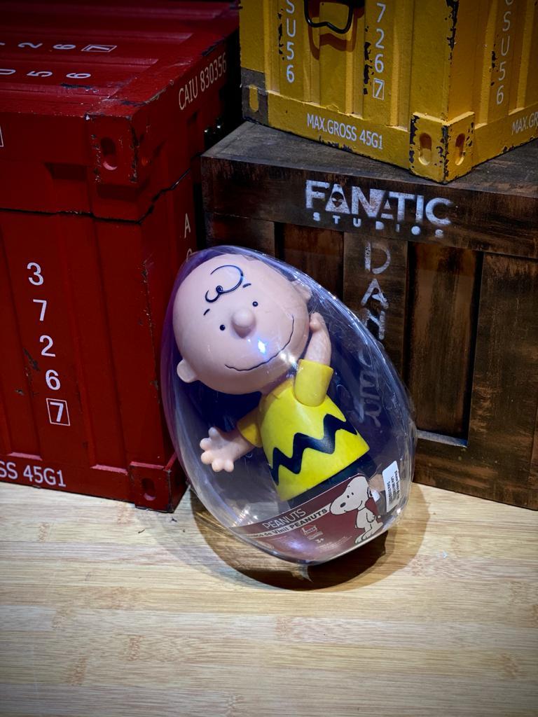 Boneco No Ovo Charlie Brown: Peanuts