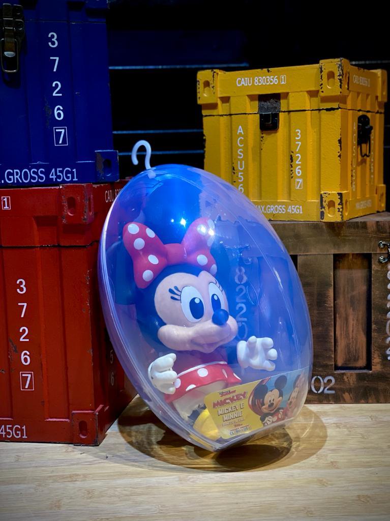 Boneco No Ovo Minnie: Mickey Mouse Club House - Disney