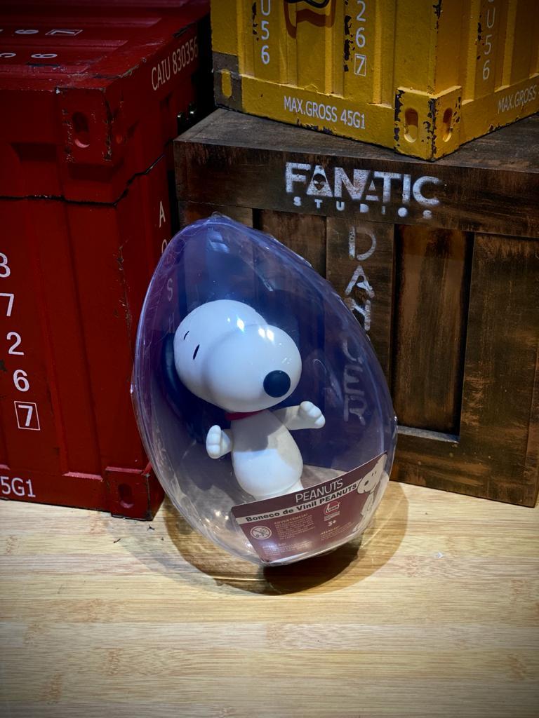 Boneco No Ovo Snoopy: Peanuts