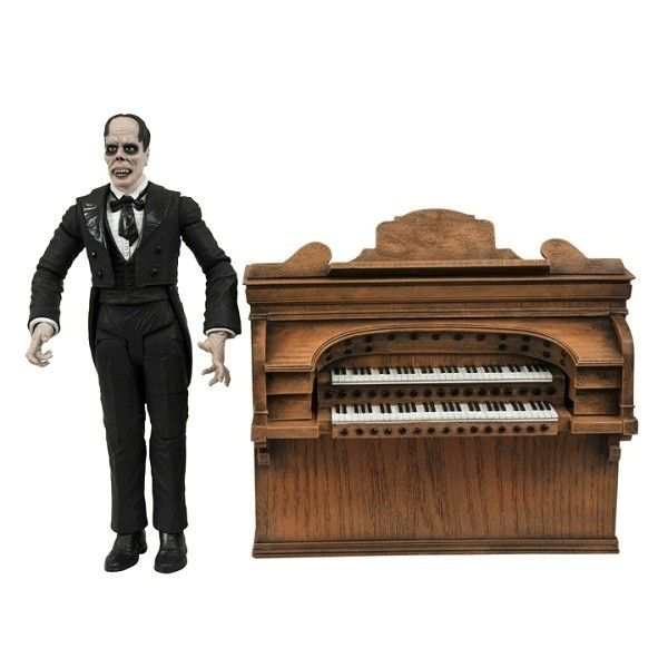 Boneco O Fantasma da Ópera (The Phantom of the Opera) Voando: Marvel Select - Diamond Select