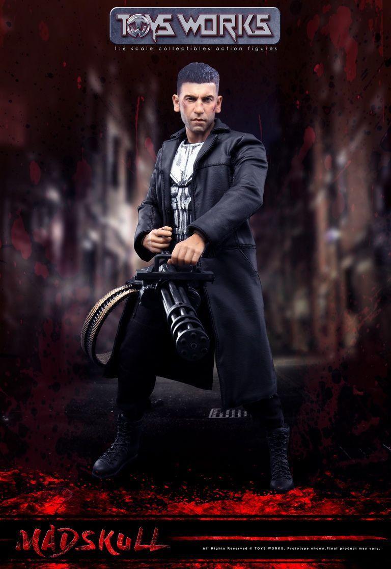Boneco O Justiceiro (The Punisher): Série Demolidor (Daredevil) Escala 1/6 - Toys Works (Apenas Venda Online)
