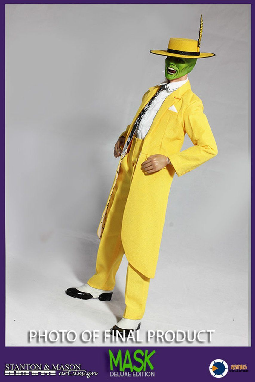 Boneco O Máskara (The Mask) Jim Carrey Escala 1/6 (Deluxe)- Asmus Toys