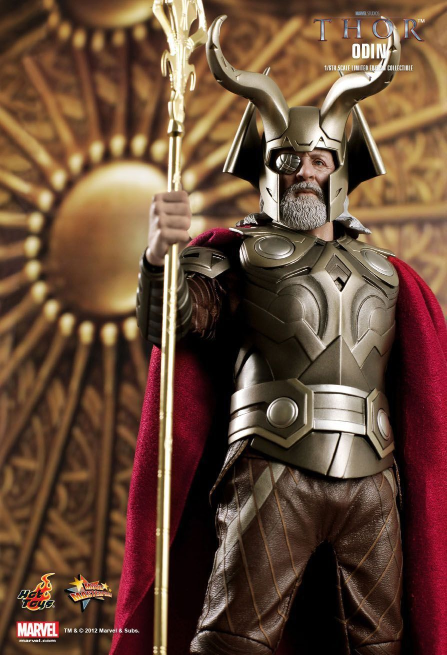 Boneco Odin:Thor Escala 1/6 (MMS148) - Hot Toys - CG