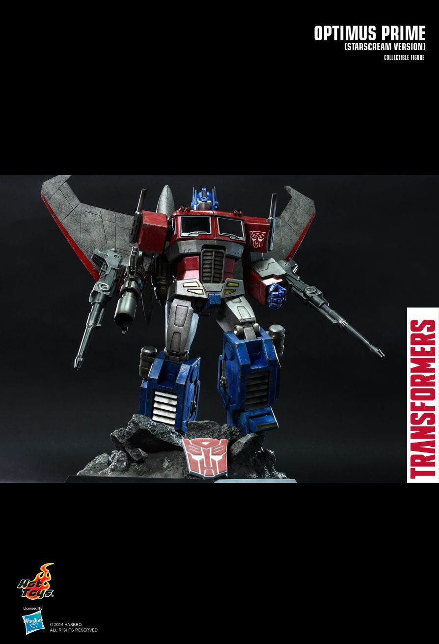 Action Figure Optimus Prime (Starscream Version): The Transformers Generation 1 Escala 1/6 (TF001) Boneco Colecionável - Hot Toys