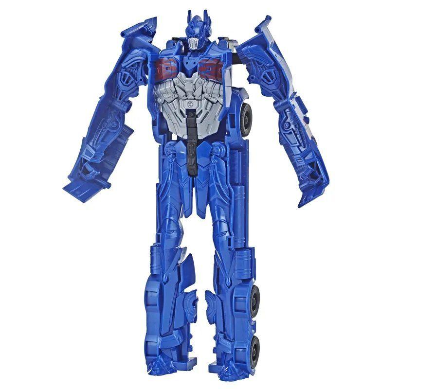 Boneco Optimus Prime (Titan Changers): Transformers (Bumblebee) - Hasbro