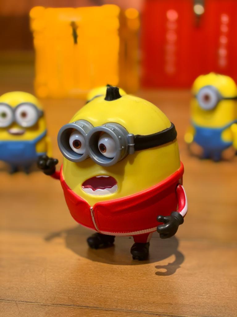 Boneco Otto: Minions (Barulhento e Bagunceiro) - Mattel