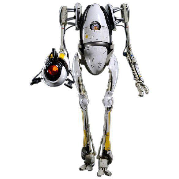 Boneco P-Body: Portal 2 Escala 1/6 - ThreeA - CD