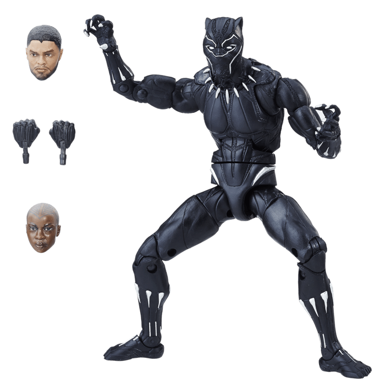 Boneco: Pantera Negra (Black Panther) Marvel Legends Series - Hasbro