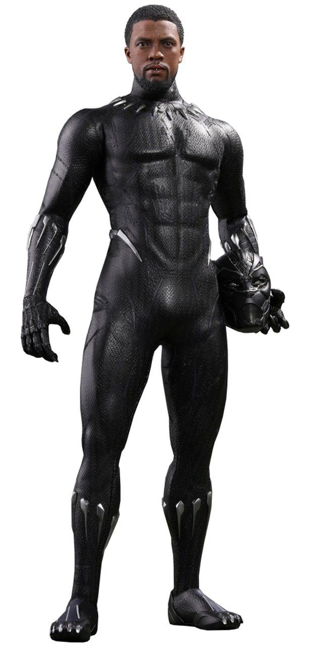 PRÉ VENDA: Boneco Pantera Negra (Black Panther): Movie Pantera Negra 1/6 (MMS470) - Hot Toys