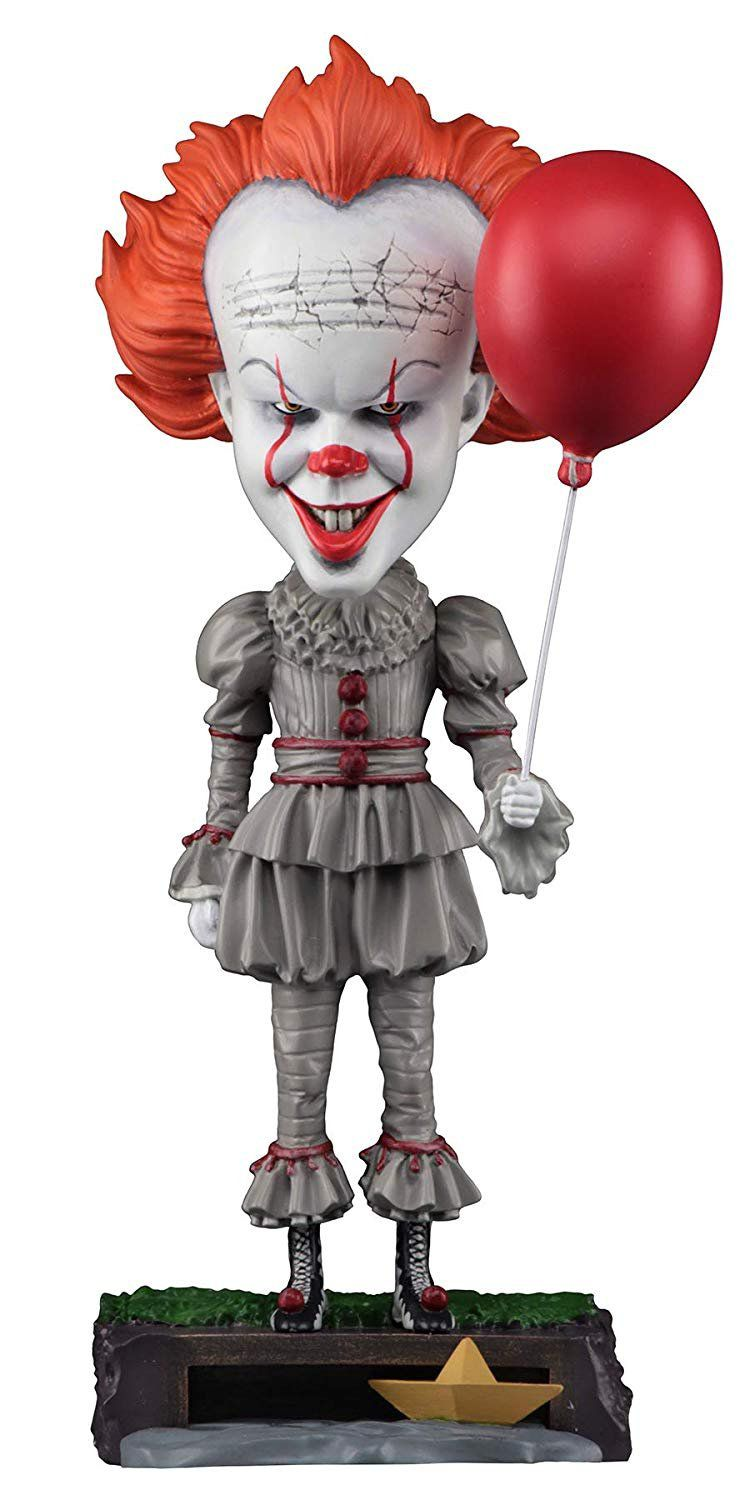 Boneco Pennywise: IT A Coisa Head Knockers Bobble Head - NECA
