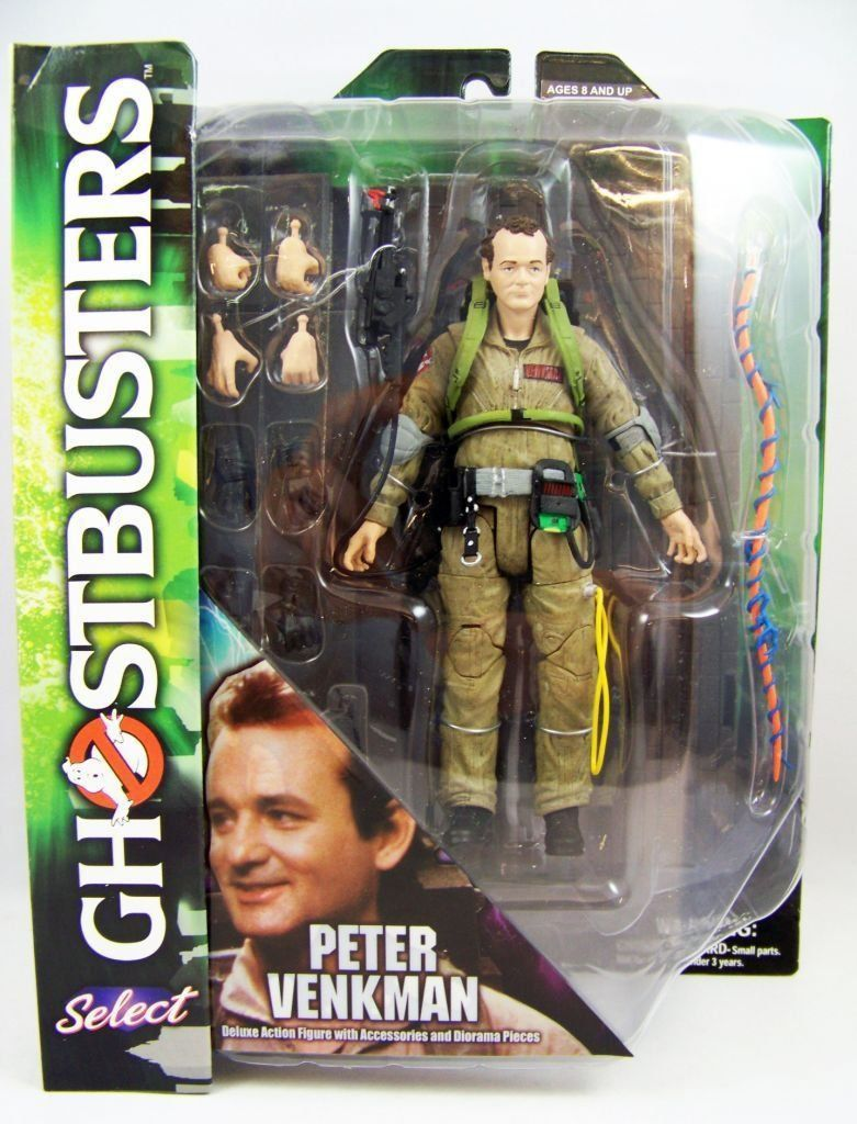 Boneco Peter Venkman: Ghostbusters - Diamond Select