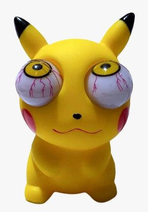 Boneco Crazy Pets Pikachu (Salta Olhos): Pokémon