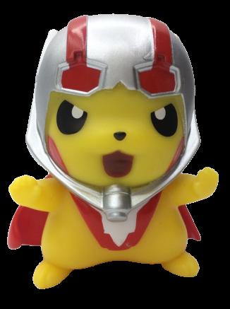 Boneco Pikachu Homem Formiga:  Pokevengers (Pokemon) (Avengers Vingadores) Anime Mangá - EVALI
