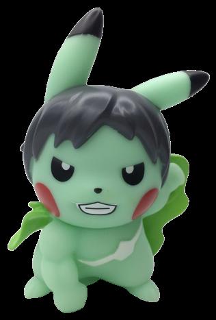 Boneco Pikachu Hulk:  Pokevengers (Pokemon) (Avengers Vingadores)