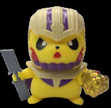 Boneco Pikachu Thanos:  Pokevengers (Pokemon) (Avengers Vingadores)