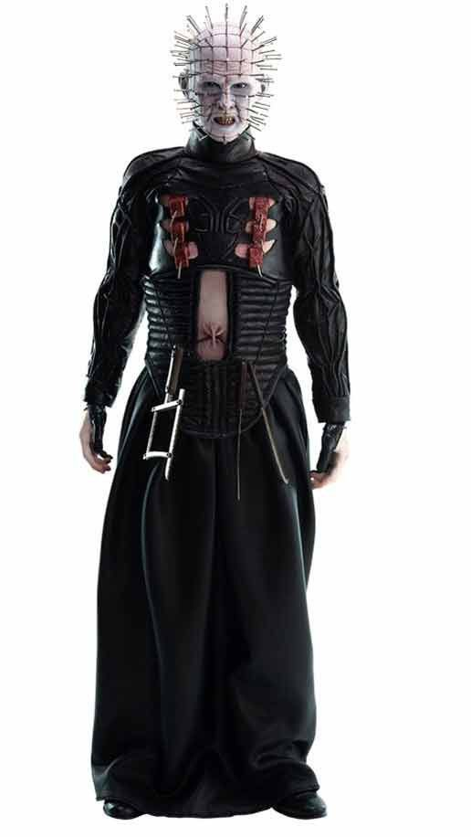Boneco Pinhead: (Hellraiser III Inferno na Terra) Escala 1/6 - ThreeZero (Apenas Venda Online)
