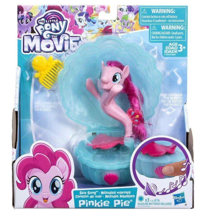 Boneco Pinkie Pie Melodia Aquática: My Little Pony O Filme - Hasbro