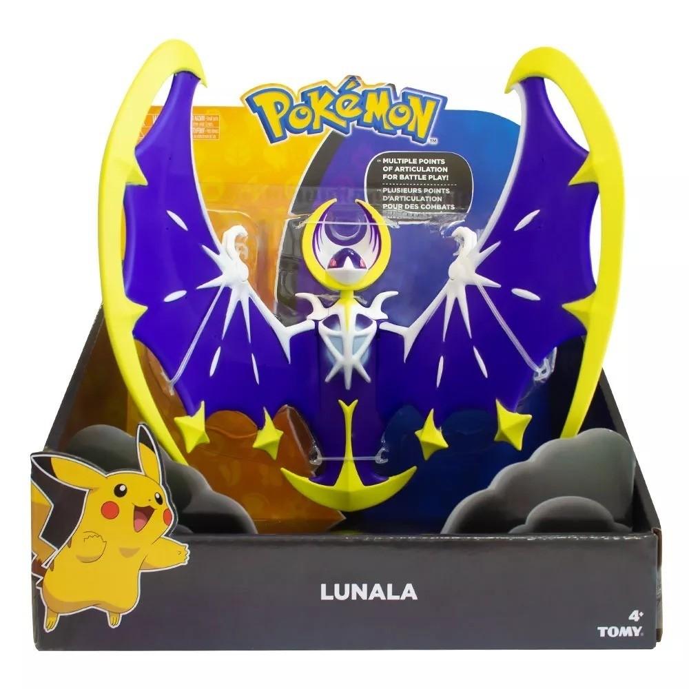 Boneco Pokémon Lendário Lunala: Pokémon Sol e Lua- Sunny