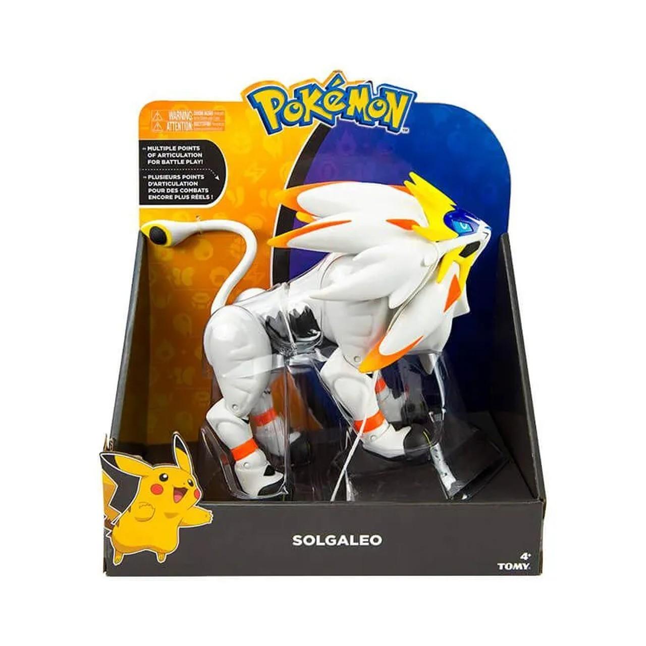 Boneco Pokémon Lendário Solgaleo: Pokémon Sol e Lua- Sunny