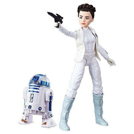 Boneco Princesa Leia e R2-D2: Star Wars Forces of Destiny - Hasbro