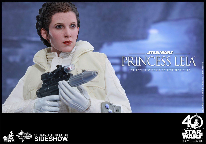 Action Figure Princesa Leia (Princess Leia): Star Wars O Império Contra-Ataca (The Empire Strikes Back) MMS423 Escala 1/6 - Hot Toys