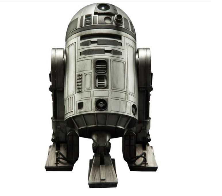 Boneco R2-D2: Star Wars: Unpainted Prototype Escala 1/6 - Sideshow