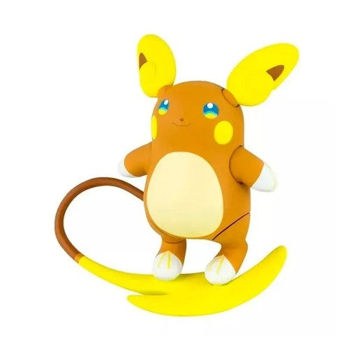 "Boneco Raichu ""Alola"": Pokémon (Sun e Moon) - Sunny"