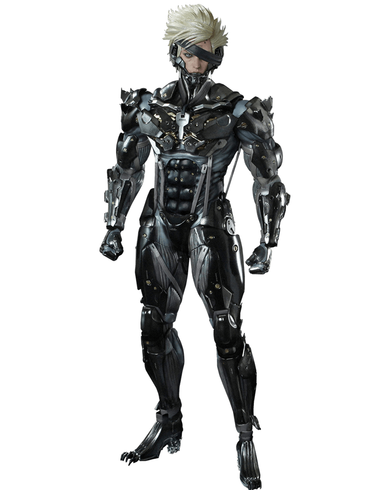 Boneco Raiden: Metal Gear Rising: Revengeance Escala 1/6 - Hot Toys - CD